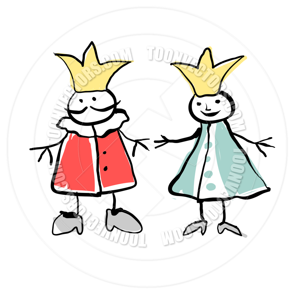 940x940 King And Queen Clipart