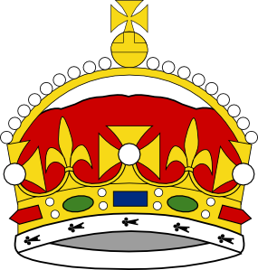 285x299 King George Clipart