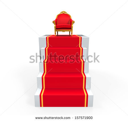 450x425 King In Throne Clipart