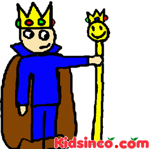 300x300 King On Throne Clipart 1188438 Cartoon Of A Tough King Holding Up