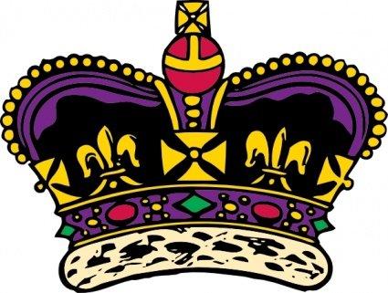 425x321 Clothing King Crown, Clip Art