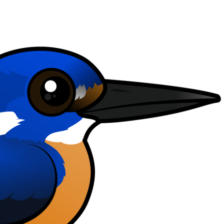 440x440 Cute Azure Kingfisher By Birdorable Lt Meet The Birds