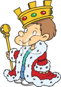 213x300 Image A Child Dressed As A King