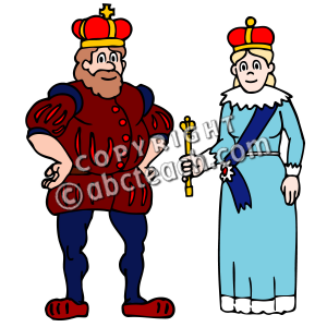 300x300 King And Queen Clipart Collection