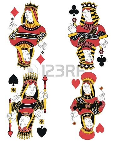 360x450 3,508 Queen Of Hearts Stock Illustrations, Cliparts And Royalty