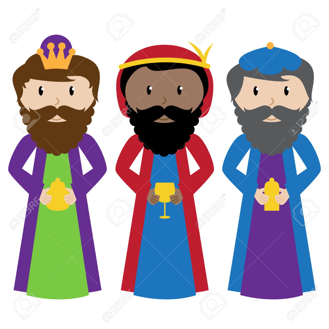 1300x1300 Wise Men Clip Art