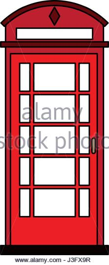 223x540 Telephone Kiosk Stock Vector Images