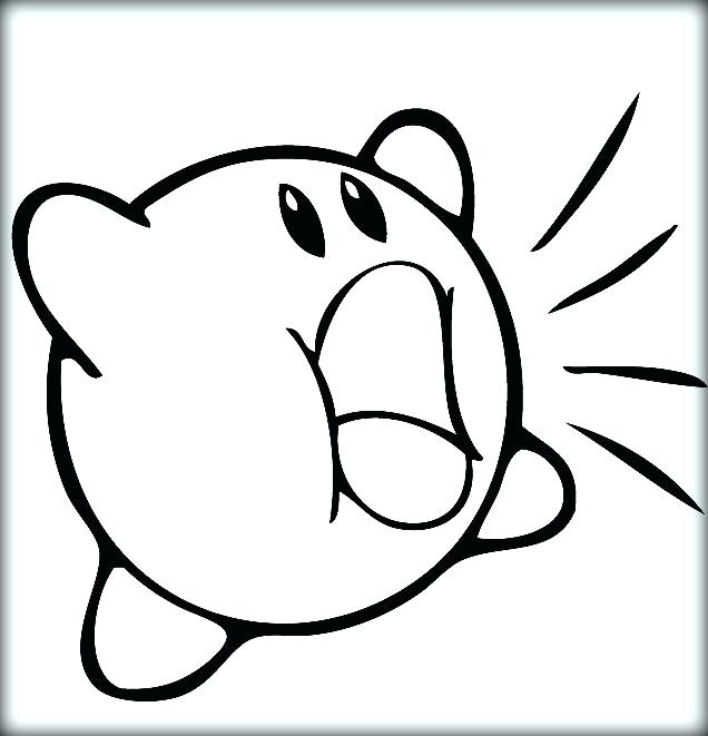 636x661 Kirby Buckets Drawings Coloring Pages Color Thaypiniphone