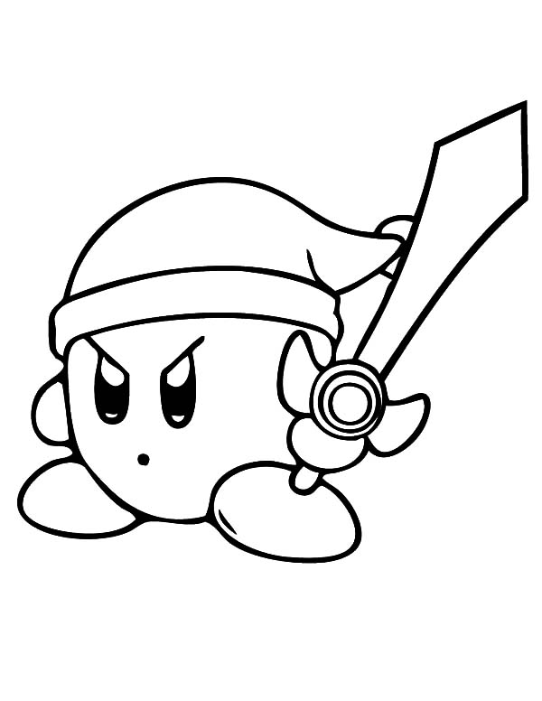 600x776 Kirby Characters Coloring Pages Murderthestout