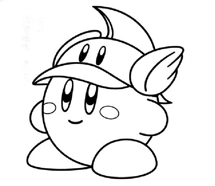699x605 Kirby Coloring Pages Photos Coloring Pages! Lt3