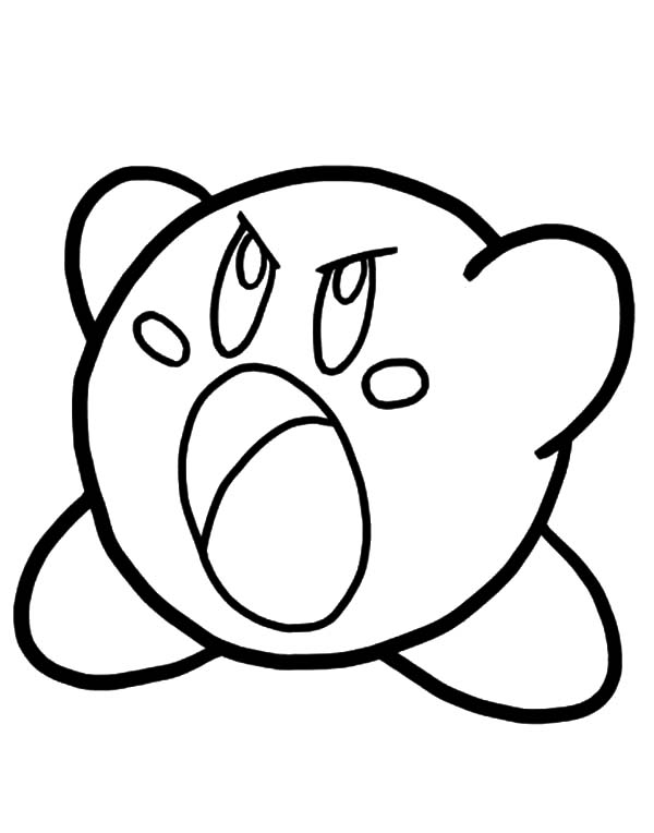 Kirby Coloring Pages Free Download On Clipartmag