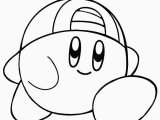 320x240 Kirby Coloring Pages To Print Printable Kir Coloring Pages