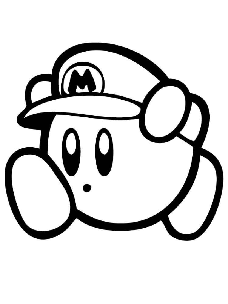 750x1000 Kirby Coloring Pages. Free Printable Kirby Coloring Pages.