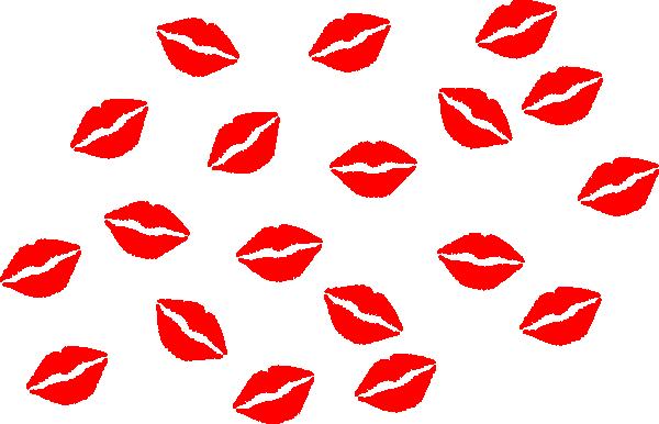 600x386 Kiss Clipart Cartoon