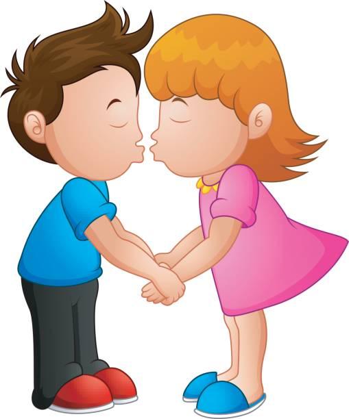 509x612 Kiss Clipart Kid Cute