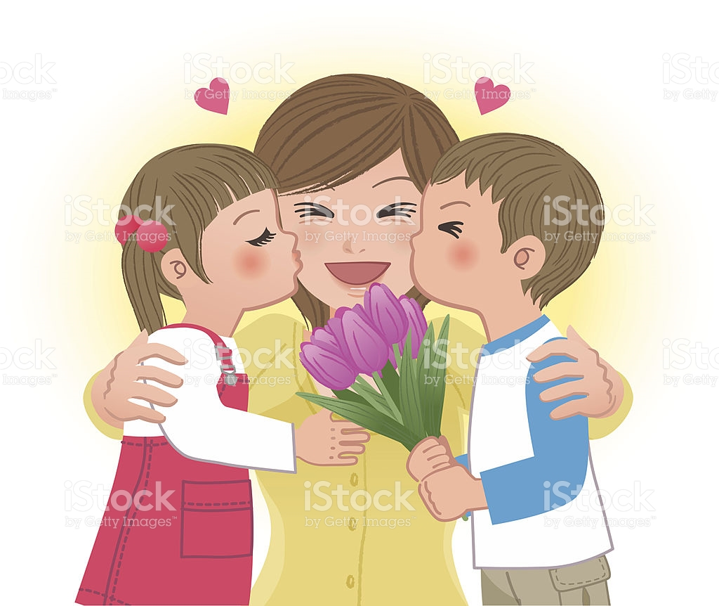 1024x862 Kiss Clipart Mother And Child