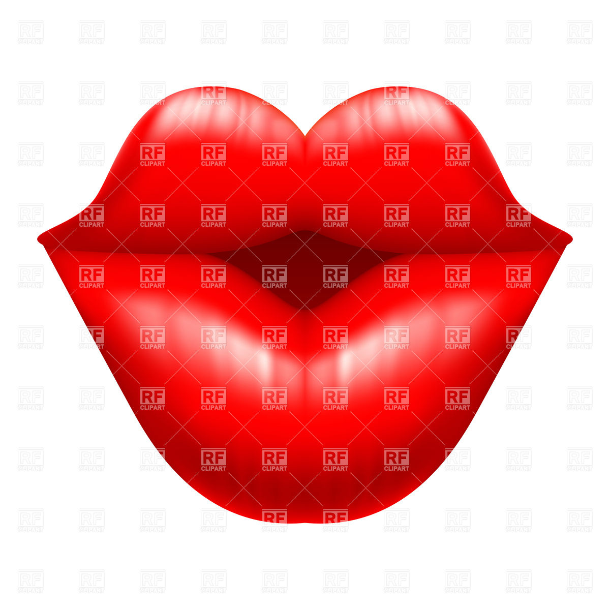 1200x1200 Kisses Clipart Mouth