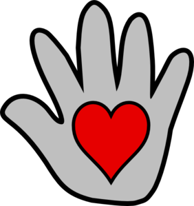 282x299 Kissing Hand Clip Art