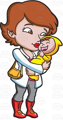 211x400 Kissing Clipart Mother And Child