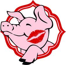 227x222 Kissing Clipart Pig