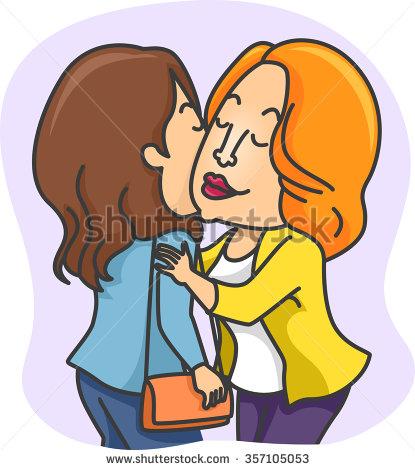 415x470 Free Clipart Kiss On Cheek Cartoon