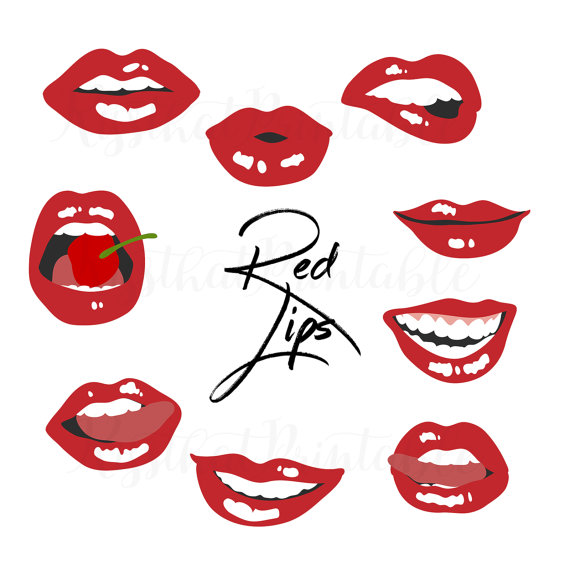 570x570 Lips Clip Art Kiss Overlay Hand Drawn Lips Clip Art