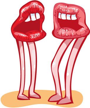 307x368 Lip Kiss Clip Art Free Vector Download (213,741 Free Vector)