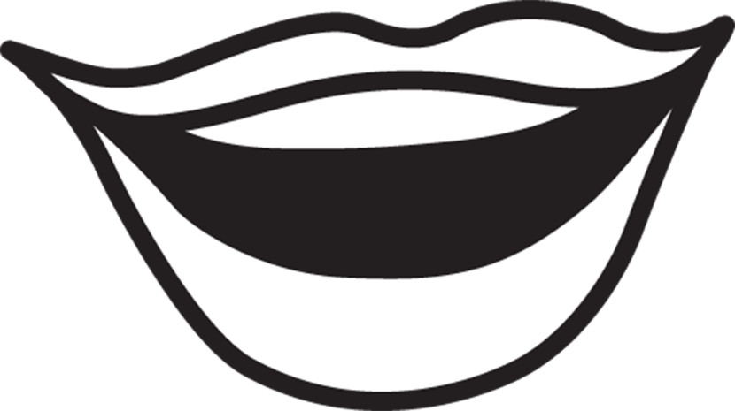 830x465 Lips Black And White Mouth Clip Art Images Illustrations Photos