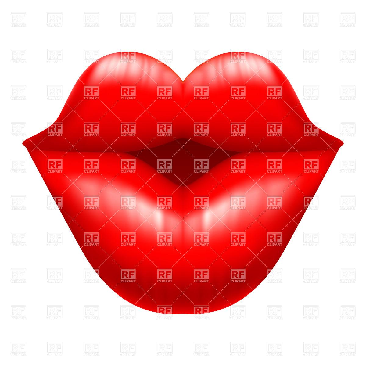 1200x1200 Kissy Lips Clip Art