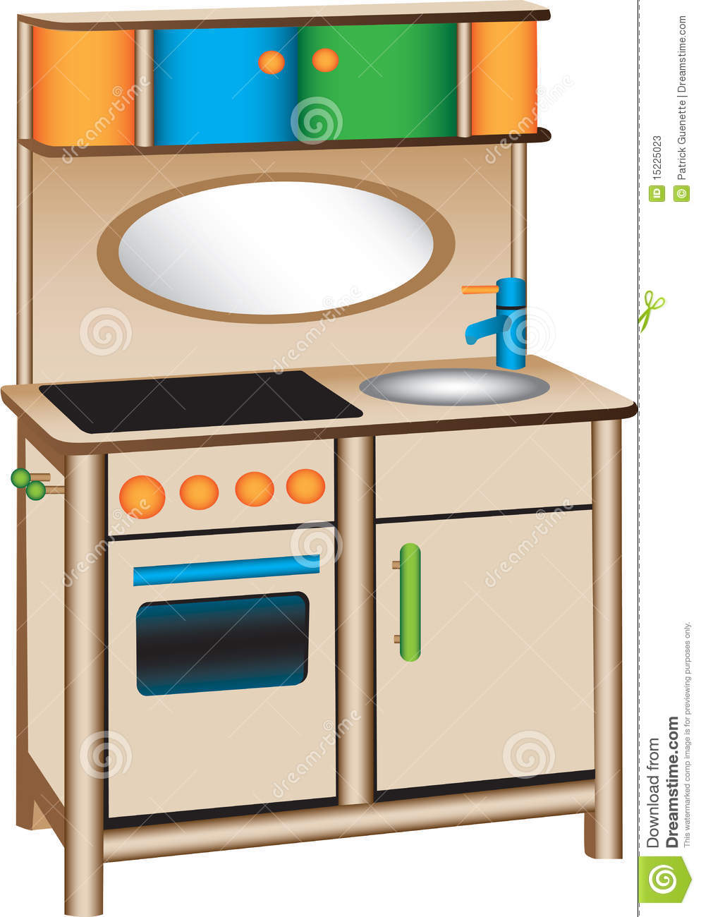 994x1300 Kitchen Clipart