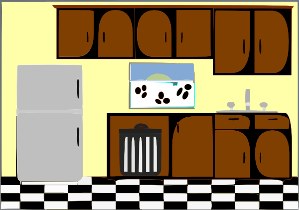 600x421 Clipart Kitchen Many Interesting Cliparts