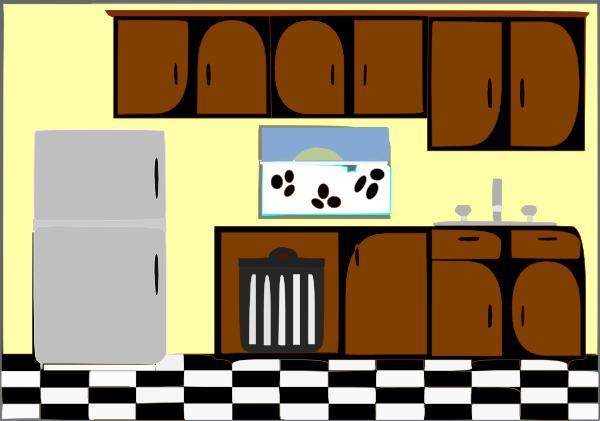 600x421 Model Kitchen Clip Art