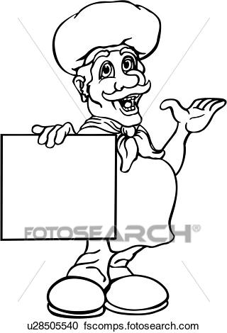 320x470 Clipart Of , Announcement, Business Sign, Business Signs, Cartoon