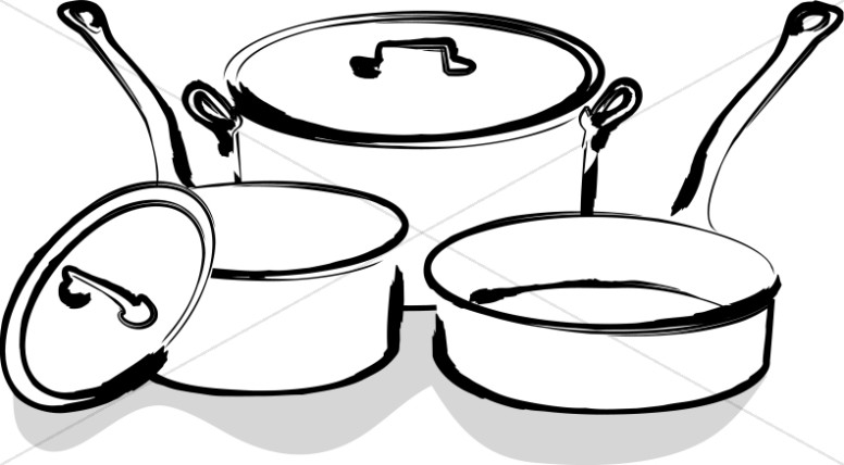 Kitchen Clipart Black And White Free Download Best Kitchen Clipart