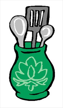 204x350 Clip Art Cooking Utensils Clipart