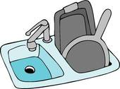 170x126 Clipart Of Kitchen Sink K5266105