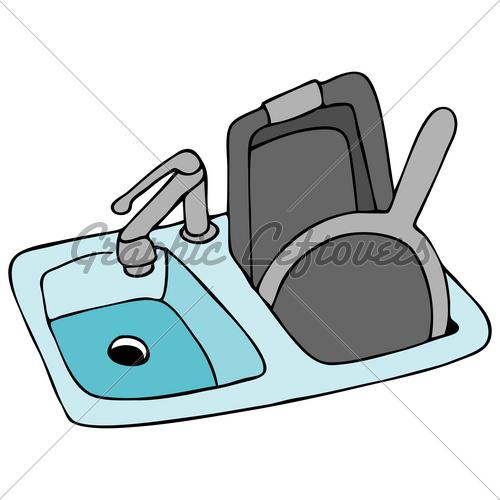 500x500 Fawcet Clipart Kitchen Faucet