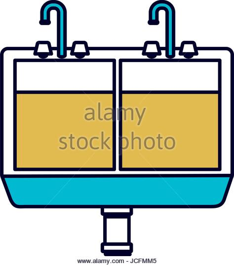 474x540 Kitchen Sink Drain Stock Vector Images