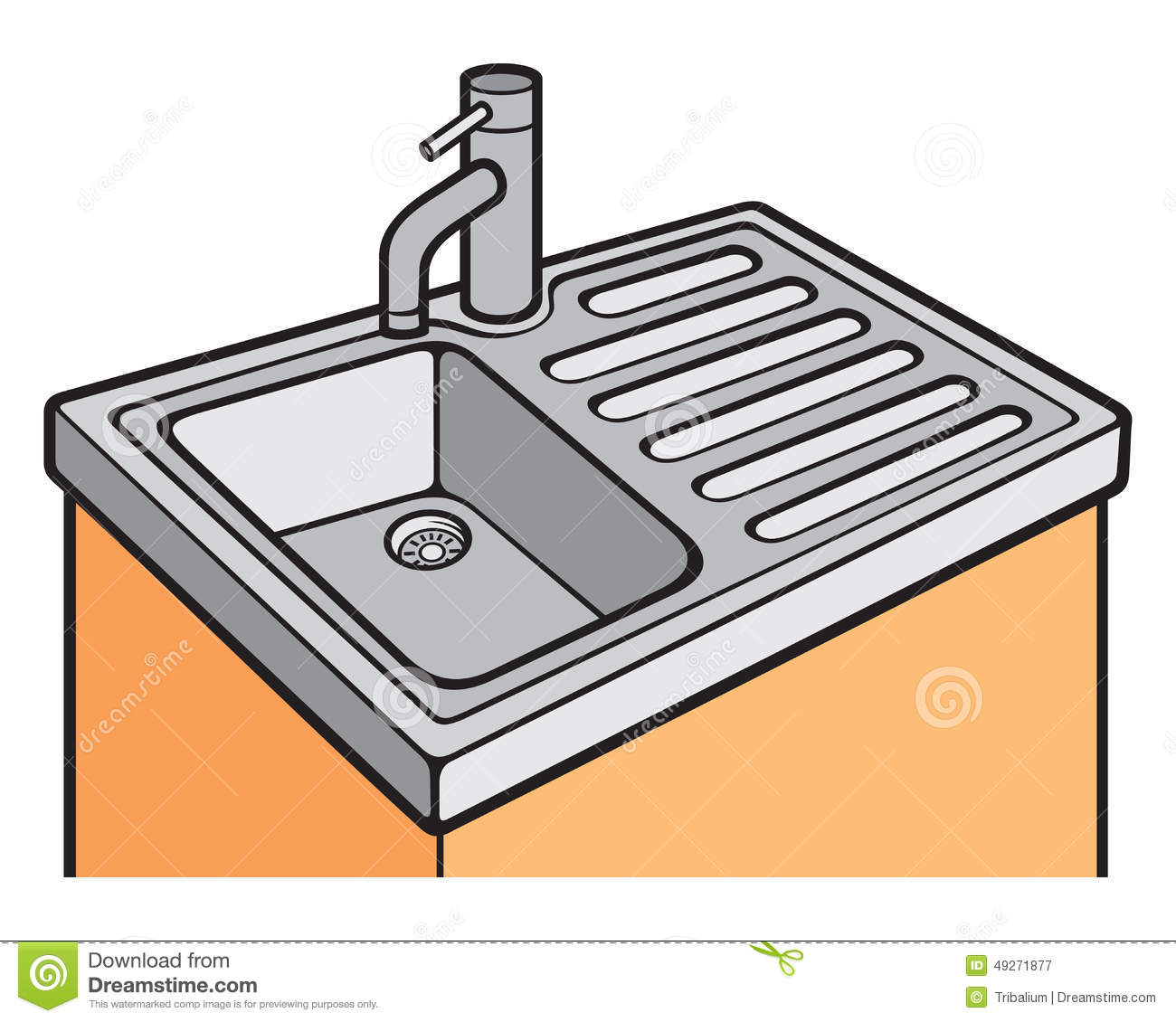 1300x1130 The Kitchen Clipart Kitchen Sink
