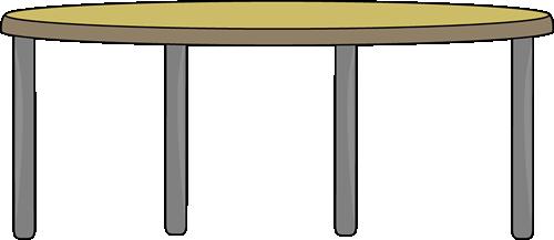 500x217 Table Clip Art