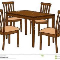 200x200 Table Clipart