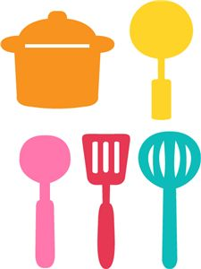 225x300 The Kitchen Clipart Cooking Material
