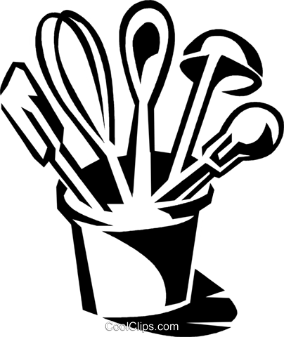 404x480 Kitchen Utensils Clipart For Free 101 Clip Art