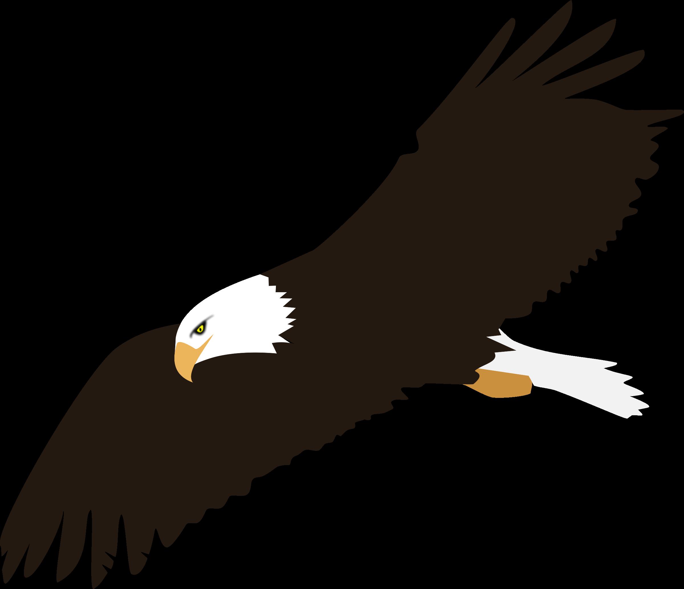 2400x2068 Bird Of Prey Clipart Soaring Eagle