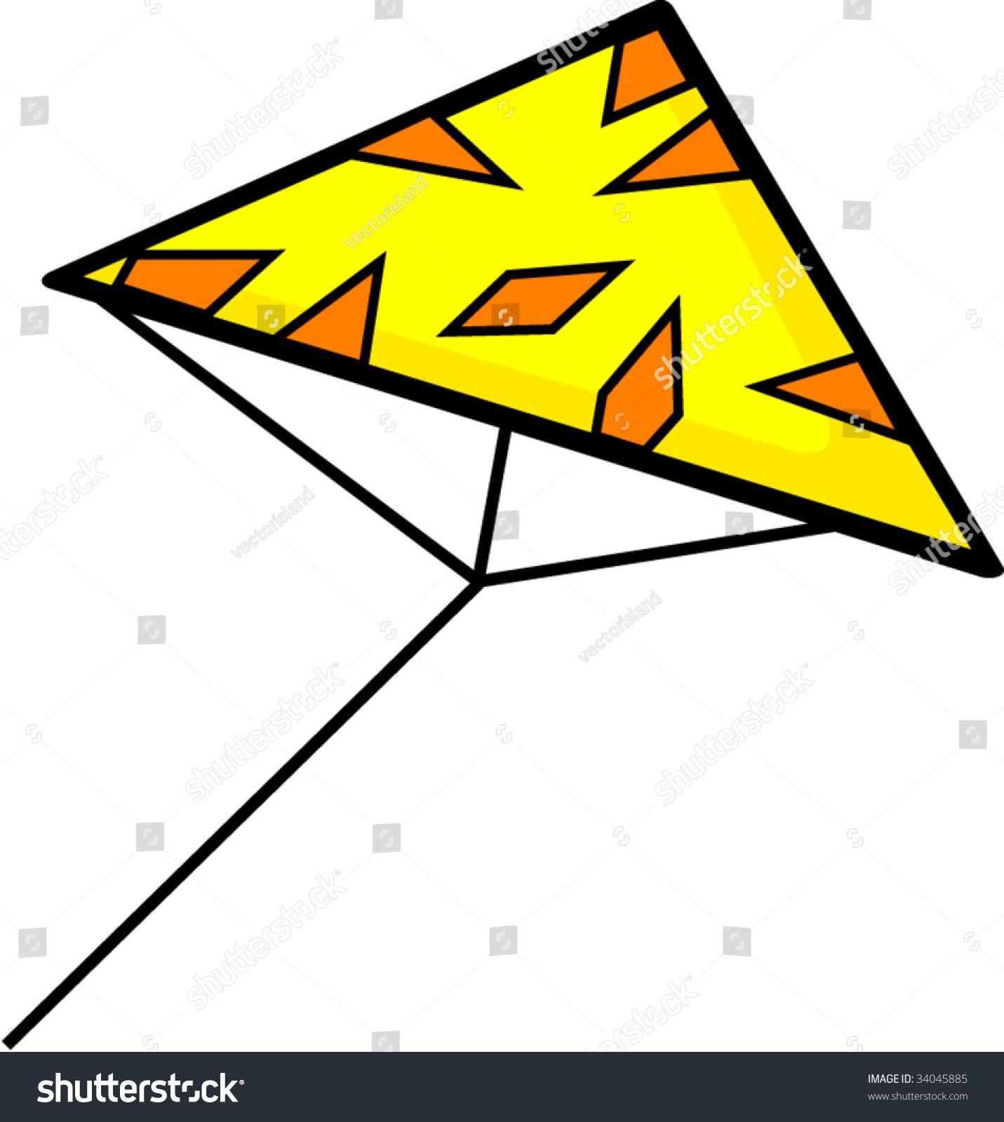 1431x1600 Kite Clipart Triangle