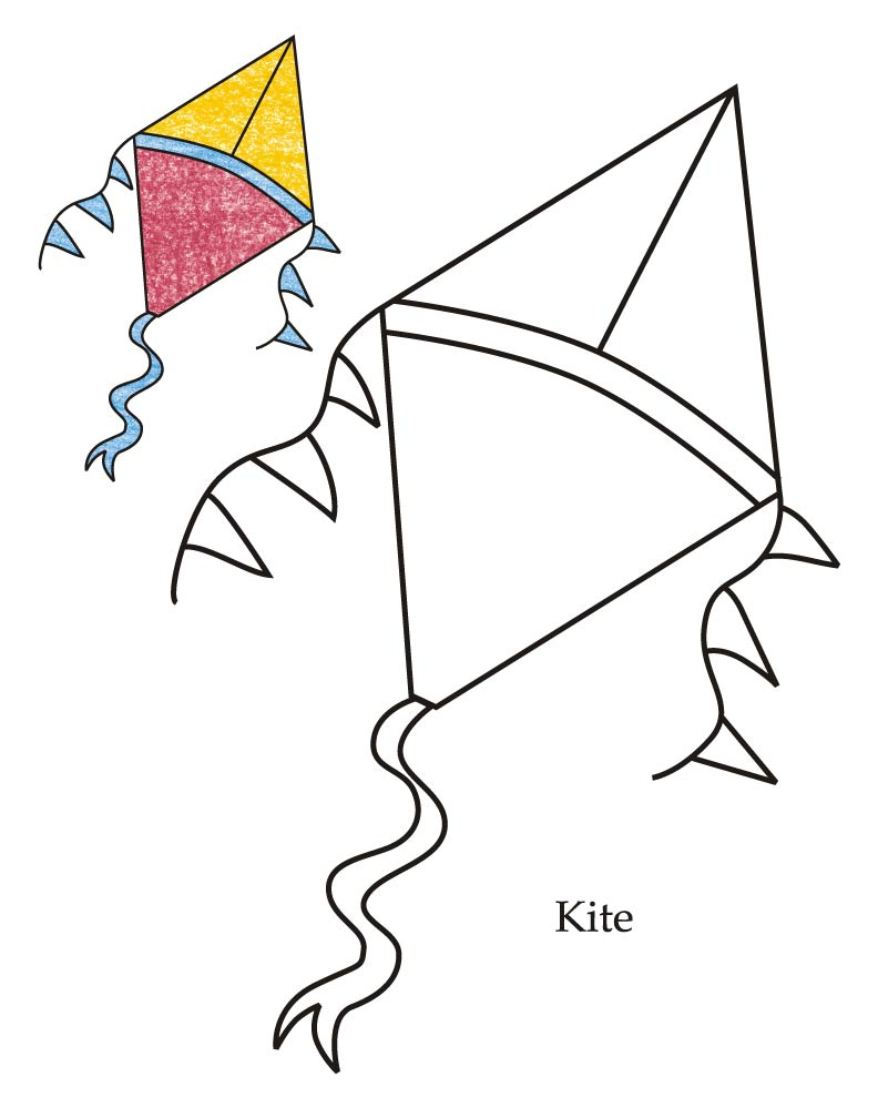 792x1008 0 Level Kite Coloring Page Download Free 0 Level Kite Coloring