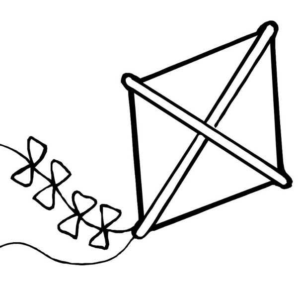 kite coloring pages - photo#19