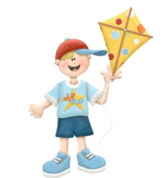 Kite Flying Clipart