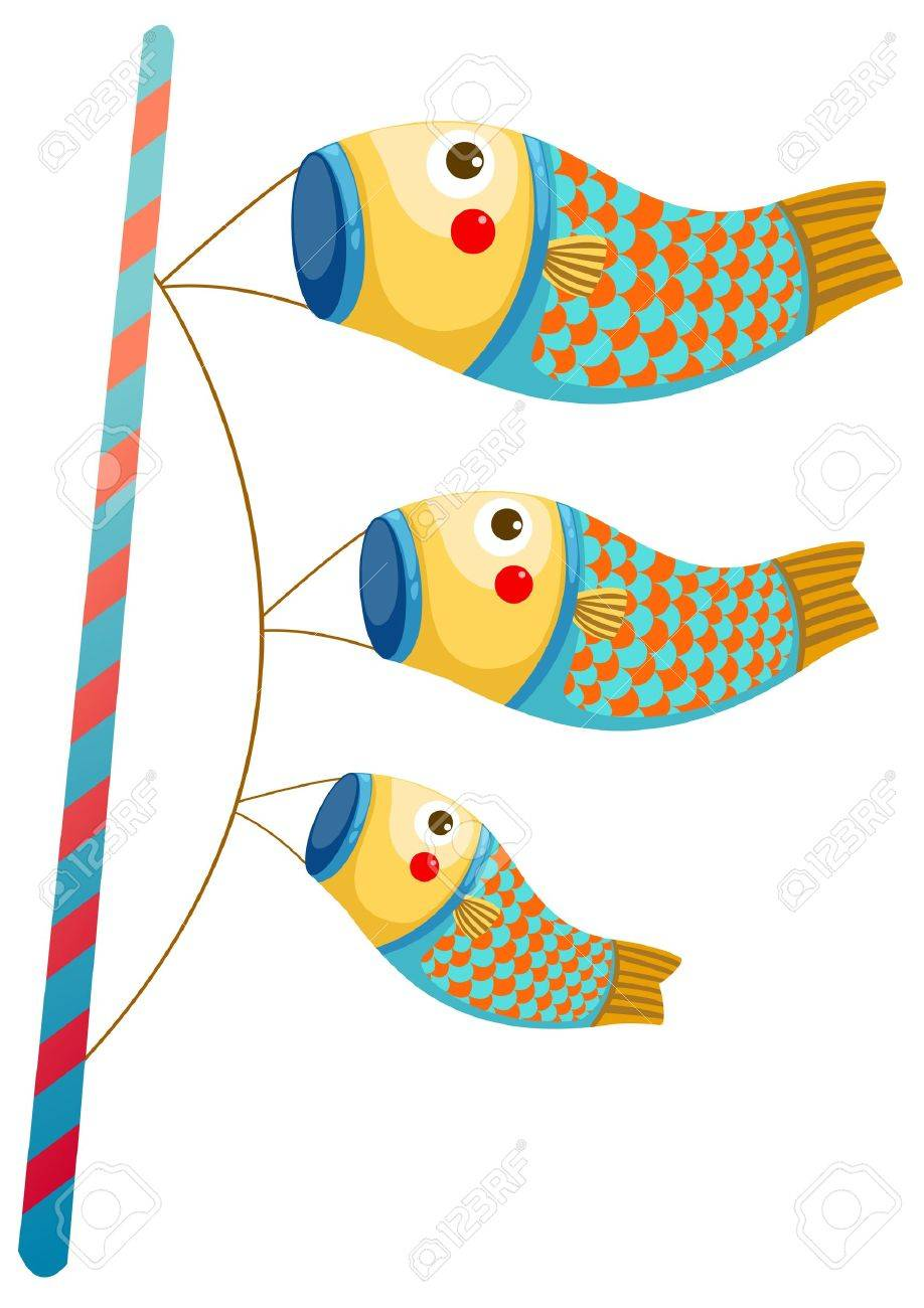 918x1300 Japanese Carp Kite Clip Art Cliparts