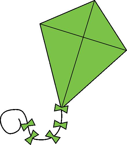 440x500 Kite Clip Art